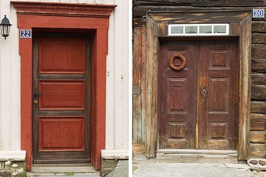 Dörrar i Røros