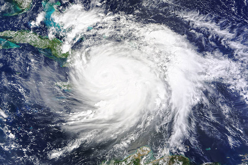 Inväntar orkanen Matthew
