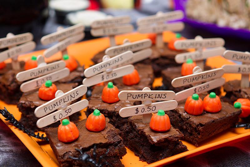 Några bilder från Halloween-festen